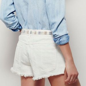Free People Eliot Shorts size 26